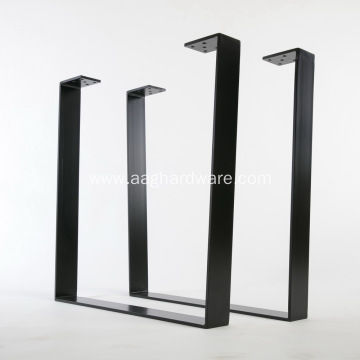 Steel solid bar furniture desk feet